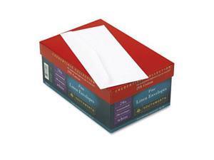Southworth J55410 Credentials Collection Fine Linen #10 Envelope  V-Flap  White  250/box