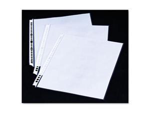 "Wilson Jones 20105 Smart-View Presentation Book Sheet Protectors - 4"" Maximum Capacity - For Letter 8.50"" x 11"" Sheet - Top Loading - Clear - Polypropylene - 10 / Pack"