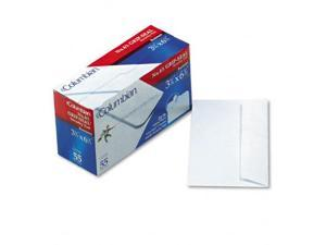 Mead Westvaco CO140 Grip-Seal Inside-Tint Business Envelopes #6-3/4 White Wove 55/bx