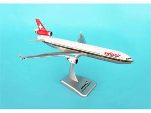 Daron HG3817G Hogan Swissair MD -11 with Gear - Gold Line Livery - Reg No HBIWL