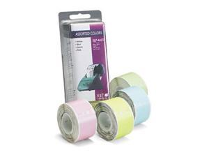 Seiko SLP4AST Self-Adhesive Address Labels for Label Printers  1-1/8 x 3-1/2  Assorted  520/Box