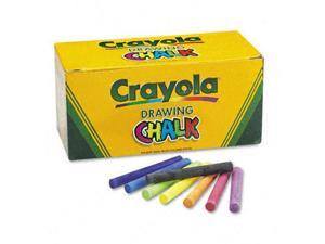 Crayola. 510400 Colored Drawing Chalk, Six Each of 24 Assorted Colors, 144 Sticks/Set