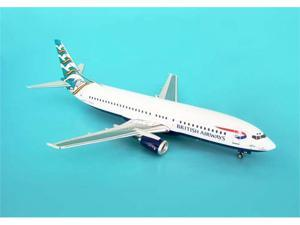 Phoenix Diecast Models 1-200 PH2BAW047 British Airways 737-400 Blue Poole with G-TREN