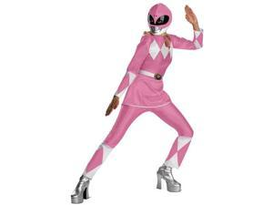 Disguise 50090EDI Womens Pink Deluxe Power Ranger Costume XL