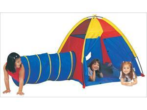 Stansport Pacific Play Tents 20414 Hide Me Play Tent and Tunnel Combination