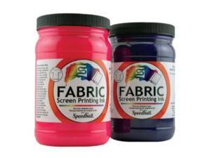 Alvin 4600 Fabric Screen Printing Ink 32oz - Black