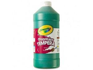 Crayola. 541232044 Premier Tempera Paint, Green, 32 oz