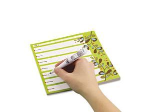 Post-it Notes Super Sticky 7378-P1-CG Super Sticky Notes Weekly Planner- 7 x 8- 26 Sheets/Pad- 1 Pad/Pack