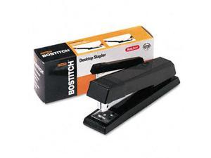 Stanley Bostitch B660BK AntiJam Full Strip Stapler, 20 Sheet Capacity, Black