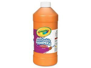 Crayola. 543132036 Artista II Washable Tempera Paint, Orange, 32 oz