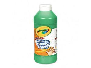 Crayola. 551316044 Washable Fingerpaint, Green, 16 oz