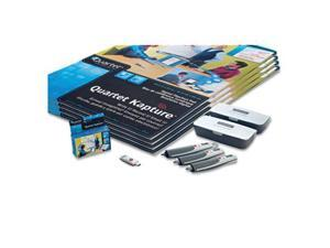 Quartet 23702 Digital FlipChart Kit, with Digital Pens/Refills, 4 Flipchart Pads, USB Receiver