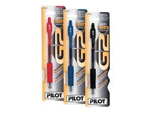 Pilot G2 Gel Retractable Black XFine 3100812- Pack of 6