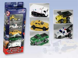 Daron Worldwide Trading RT8925 New York City Official 5 Pc Vehicle Set