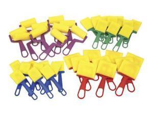 Chenille Kraft CK-5212 Chenille Kraft Paint Brushes 40 Brush Set