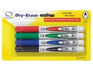 Acco Brands 4 Count Assorted Fine Tip Dry Erase Markers  659520Q - Pack of 6