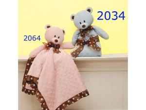 First & Main 2034 Blue Beary Blanket