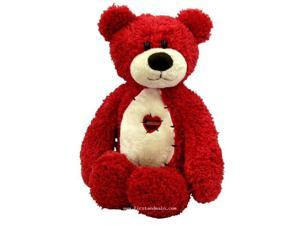 First & Main 1415 Tender Teddy Plush Toys - Red