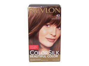 Revlon ColorSilk Beautiful Color 43 Medium Golden Brown