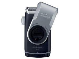 Procter and Gamble 10069055857912 Braun Mobile Shaver Silver M90