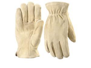 Wells Lamont 1070L Ranch Suede Split Cowhide Gloves