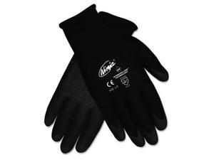 Crews N9699L Ninja HPT PVC coated Nylon Gloves, Large, Black