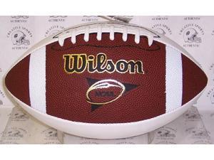 Creative Sports Enterprises WILSON-F1196 Wilson NCAA 3 White Panel Autograph Model College Football - F1196