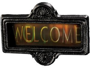 "Morbid 197529 7""H x 15""W Welcome to Hell Sign"