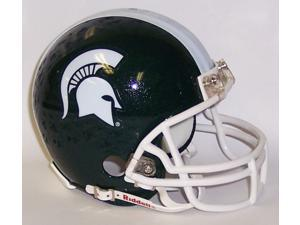 Creative Sports Enterprises RC-MICHIGAN-State-MR Michigan State Riddell Mini Football Helmet