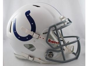 Creative Sports Enterprises RDRSA-COLTS Indianapolis Colts Riddell Speed Revolution Full Size Authentic Proline Football ...