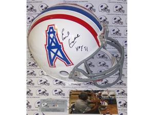Creative Sports Enterprises APROHO-CAMPBELL-GM Earl Campbell Hand Signed Houston Oilers Authentic Helmet
