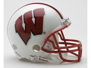 Creative Sports Enterprises RC-WISCONSIN-MR Wisconsin Riddell Mini Football Helmet