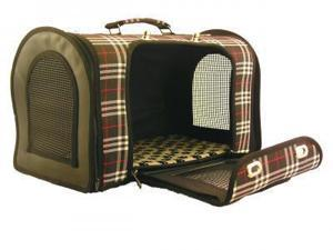 Creative Motion 12515 Brown with Black Stripe Carry Bag for Pet