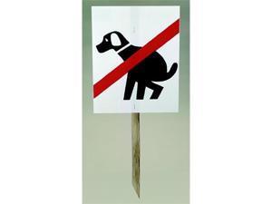 Tanglefoot Bird Repellent TF97003 Doggie Don't Doo Doo Signs