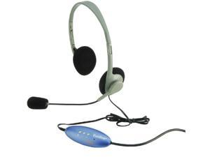 Hamilton Electronics- Vcom HECHA2USBSM Usb Headphones with Replaceable Foam Ear Pads with Microphone