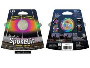Nite SKL0307 Spokelit Disco LED Bicycle Spoke Reflector