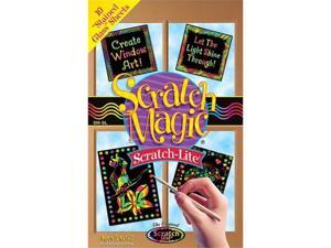 Melissa and Doug 5800 Scratch Magic Scratch-Lite Stained Glass - SMSL