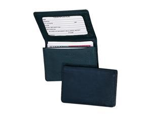 Royce Leather 409-TAN-5 Business Card Holder - Tan