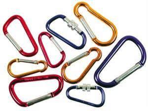 Great Neck Saw 9 Piece Carabiner Set  17670 - Pack of 6
