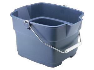 Rubbermaid 15 Qt Aquamarine Roughneck Buckets  287100ROYBL - Pack of 6