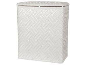 Lamont 3451001 Apollo Upright Hamper-White