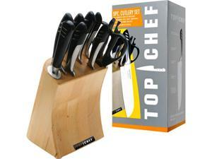 Top Chef Full Stainless Steel Knife Set - 9 Pieces