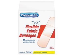Acme United 51006 Fabric Adhesive Bandages 1 x 3  50 per Box