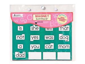 Dowling Magnets DO-733000 Magnet Literacy High Frequency Word- Magnets Gr K-1