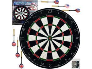 Tg Pro Style Bristle Dart Board Set with 6 Darts & Board