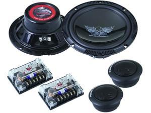 Power Acoustik OW-CPT60C 6.5 in. 160 Watt Deluxe Comp Kit