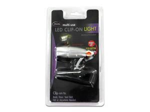 Miniature LED clip-on light - Pack of 24