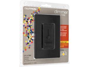 Trademark Poker Lutron Dalia Duo Dimmer 600W 3-Way - Granite