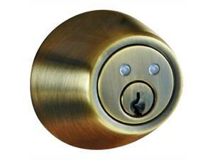 Morning Industry RF-01AQ Radio Frequency Remote Deadbolt, Antique Brass