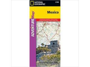 National Geographic Maps AD00003108 Mexico Map